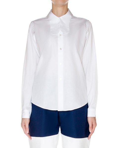 блуза классического кроя из хлопка артикул AASS16SHSH02 марки AALTO купить за 18000 руб.