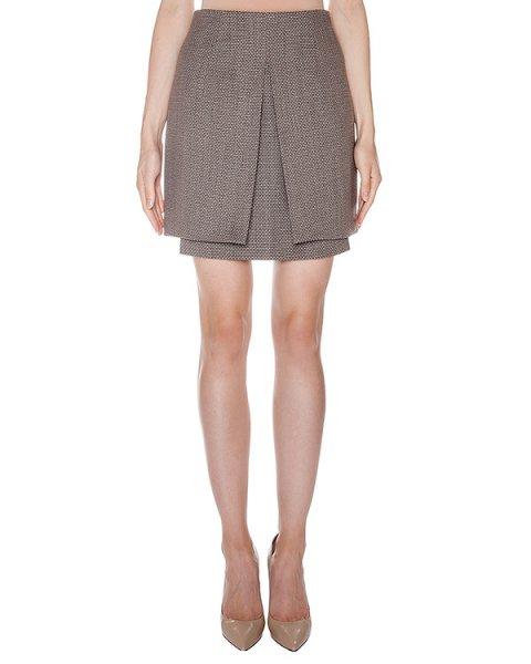 юбка из вирджинской шерсти и хлопка артикул AASS16SK02 марки AALTO купить за 17400 руб.