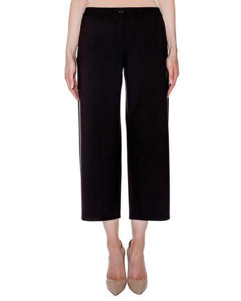 брюки широкие, укороченного кроя из мягкой шерсти артикул AASS16TR07 марки AALTO купить за 22200 руб.