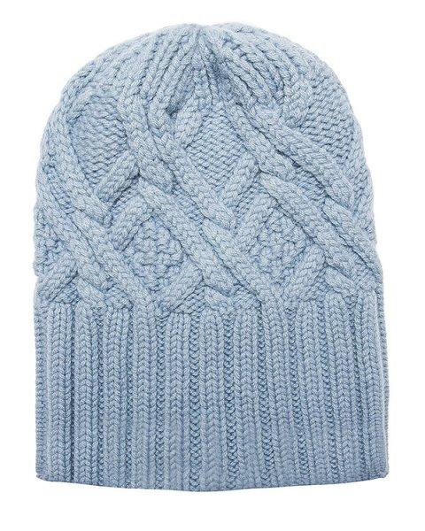 шапка из мягкой шерсти крупной вязки артикул AC061 марки MRZ купить за 9500 руб.