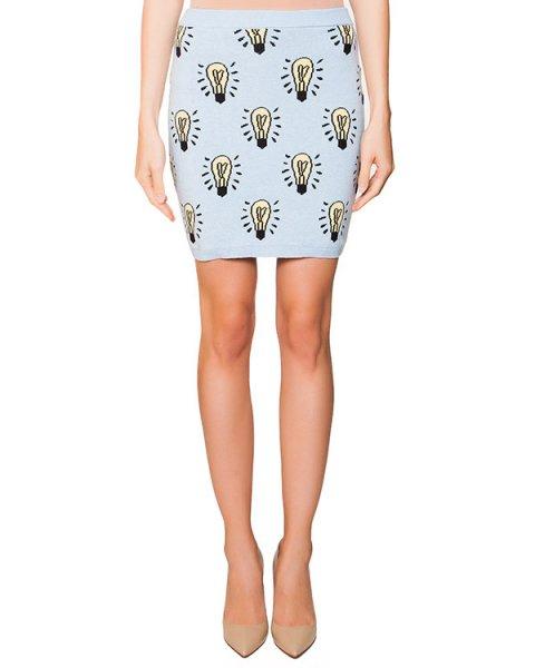юбка из мягкого хлопка с рисунком в виде лампочек артикул AJKSKI01 марки Au Jour Le Jour купить за 8600 руб.