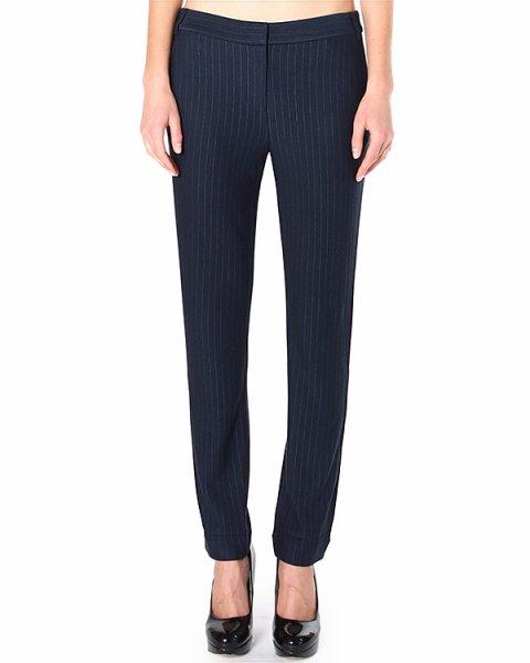 брюки зауженного силуэта со средней посадкой артикул APK32757 марки TIBI купить за 12300 руб.