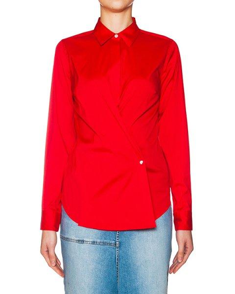рубашка оригинального приталенного кроя из хлопка артикул APRIL-SS16 марки Sara Roka купить за 9600 руб.