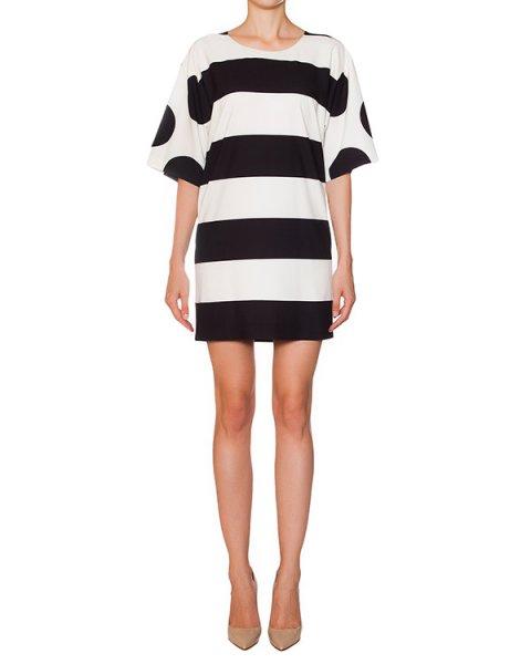 платье в широкую полоску артикул B0205-1003 марки Moschino Boutique купить за 12900 руб.