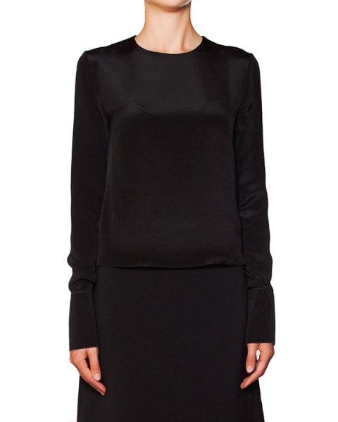 блуза из плотного блестящего шелка артикул B329-2 марки Roksanda Ilincic купить за 40300 руб.