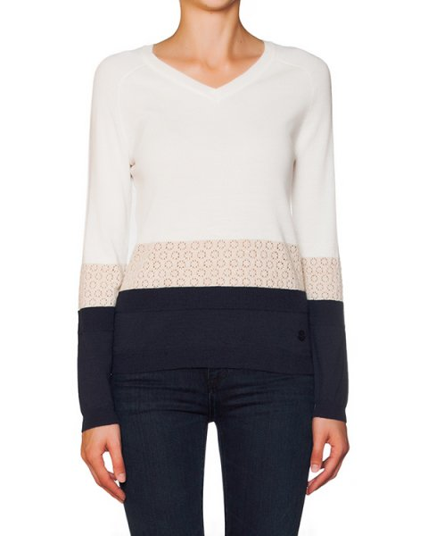 пуловер из мягкого трикотажа артикул B5W86 марки ARMANI JEANS купить за 6100 руб.