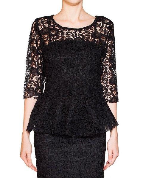 двойка блуза из кружева с баской + плотный топ артикул BB47048 марки Brigitte Bardot купить за 5100 руб.