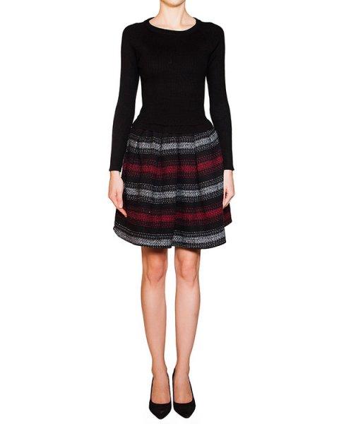 платье из мягкого вязаного материала с плотной юбкой в полоску артикул BB47224 марки Brigitte Bardot купить за 9100 руб.