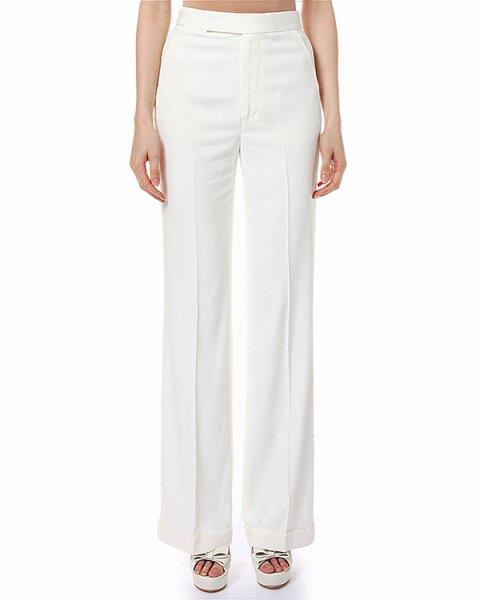 брюки с высокой посадкой, расклешенные от бедра артикул C34ISCMP марки Polo by Ralph Lauren купить за 11100 руб.