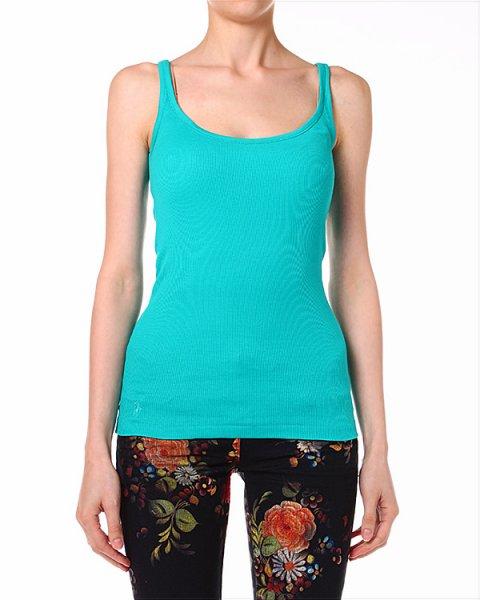 топ ультра-модного бирюзового цвета артикул C38INRES марки Polo by Ralph Lauren купить за 1800 руб.