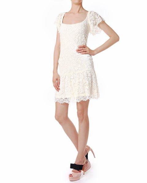платье на подкладе, из легкого хлопкового кружева артикул C38ISBEC марки Polo by Ralph Lauren купить за 14300 руб.
