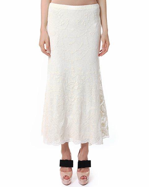 юбка макси, чуть расклешенная от линии колен артикул C38IURES марки Polo by Ralph Lauren купить за 12400 руб.