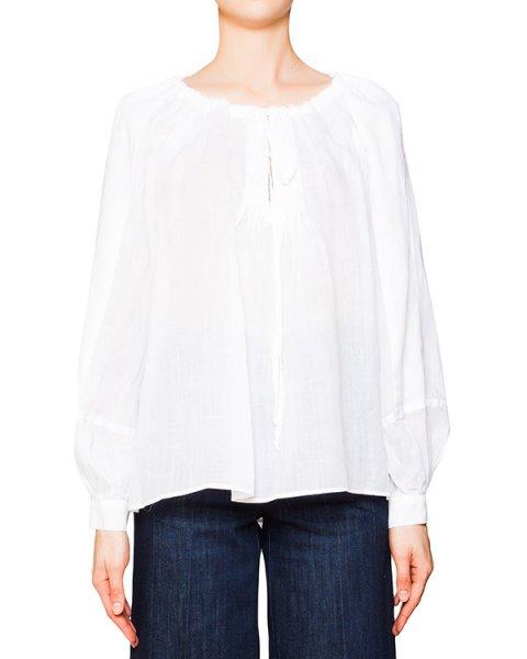 блуза свободного кроя из мягкой тонкой ткани артикул C402 марки DONDUP купить за 11500 руб.