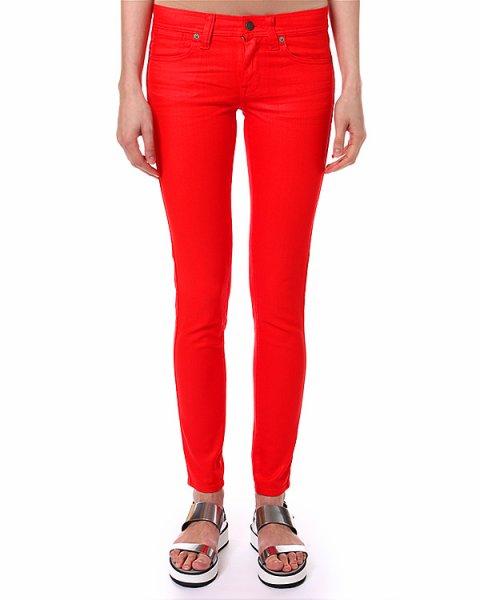 джинсы полной длинны привлекающего внимания оттенка артикул C60ISCOS марки Polo by Ralph Lauren купить за 7200 руб.