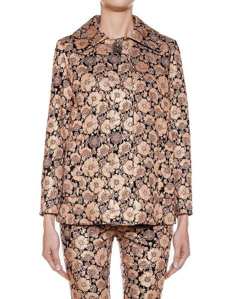 жакет из ткани с цветочными узорами артикул CA6CB0202 марки Simona Corsellini купить за 34000 руб.