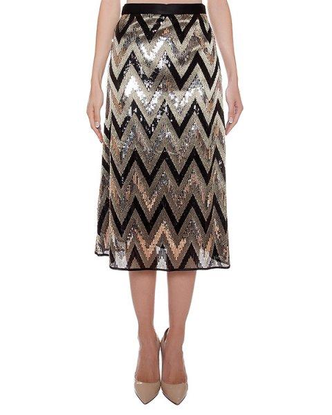 юбка расшитая пайетками артикул CA6GO0501 марки Simona Corsellini купить за 11100 руб.
