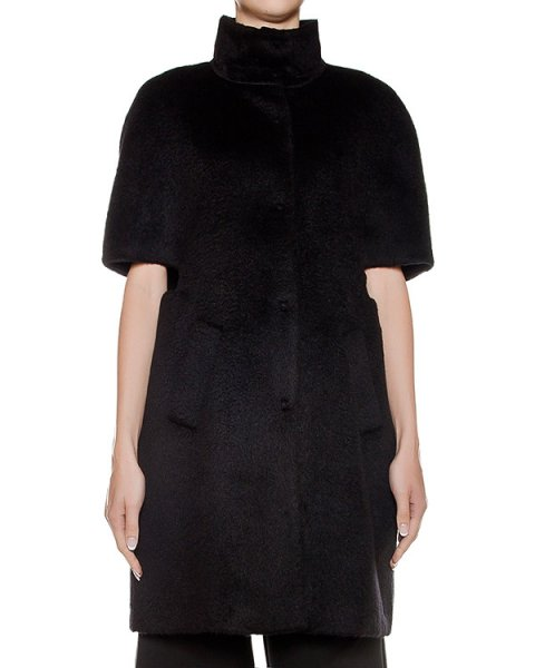 кейп из плотной шерстяной ткани артикул CA6MT0101 марки Simona Corsellini купить за 33800 руб.