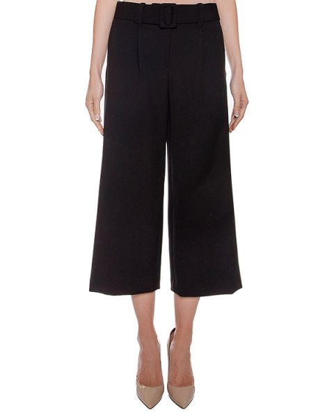 брюки укороченные из плотной ткани артикул CA6PA0101 марки Simona Corsellini купить за 18100 руб.