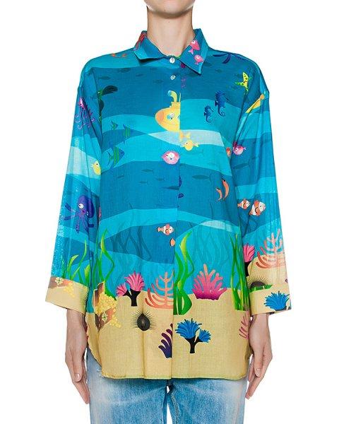 рубашка  артикул CAM26SEA марки Ultra Chic купить за 21700 руб.