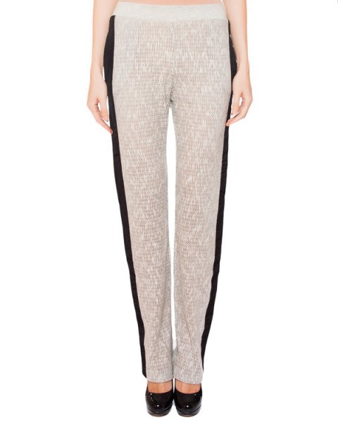 брюки в спортивном стиле из вязаного трикотажа артикул CEP191 марки AVIU купить за 11200 руб.