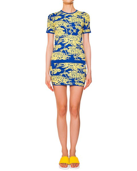 джемпер футболка+юбка из мягкого вязаного трикотажа с фактурным рисунком артикул CHRYSA510042 марки P.A.R.O.S.H. купить за 16400 руб.