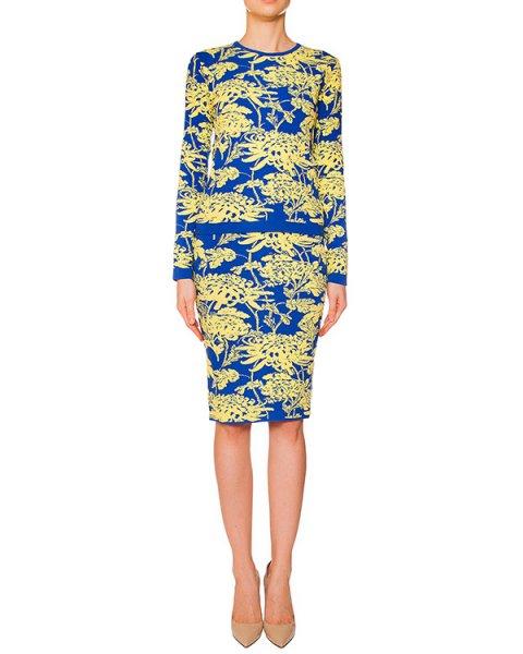 костюм джемпер+юбка из мягкого вязаного трикотажа с фактурным рисунком артикул CHRYSA510043-CHRYSA560001 марки P.A.R.O.S.H. купить за 19300 руб.