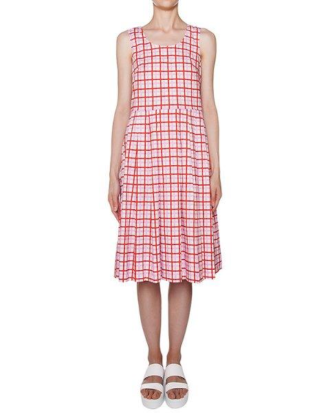 платье трикотажное в клетку артикул CIEK720415 марки P.A.R.O.S.H. купить за 13000 руб.