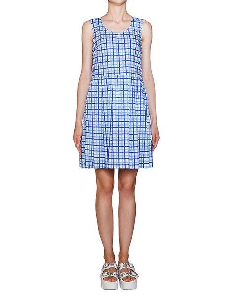 платье из хлопкового трикотажа в клетку артикул CIEK720437 марки P.A.R.O.S.H. купить за 10900 руб.
