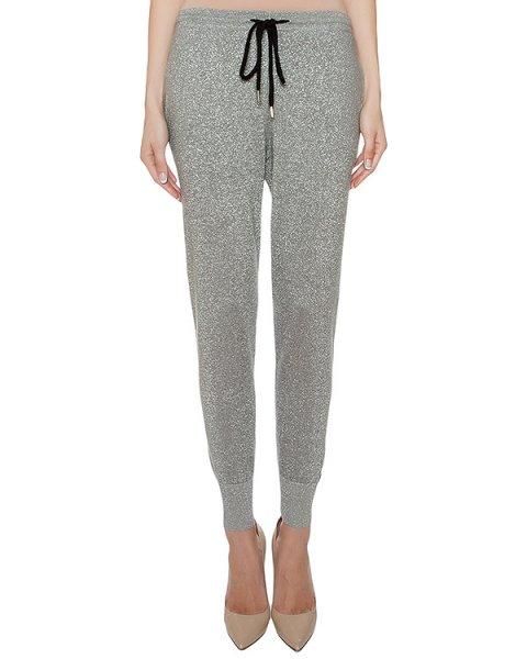 брюки из хлопкового трикотажа с люрексовыми нитями артикул CKN0011 марки Markus Lupfer купить за 11100 руб.