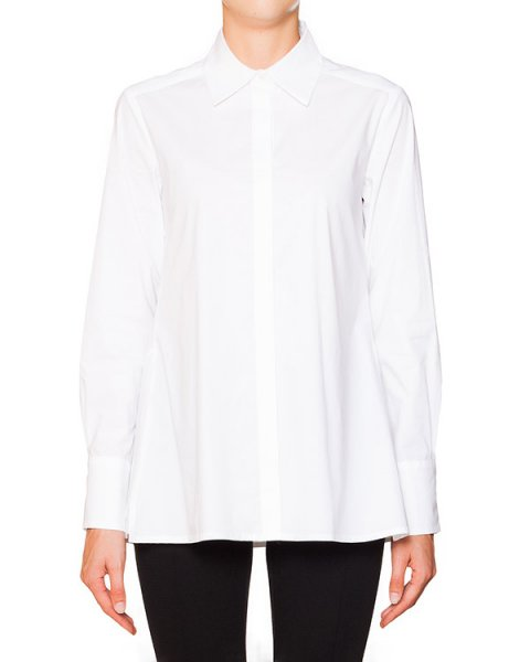 рубашка свободного кроя из хлопка артикул CM12 марки Sonia Speciale купить за 23800 руб.