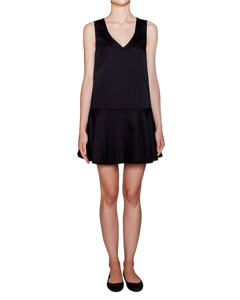 платье из плотного хлопка с открытой спиной артикул COLTY730125 марки P.A.R.O.S.H. купить за 9200 руб.