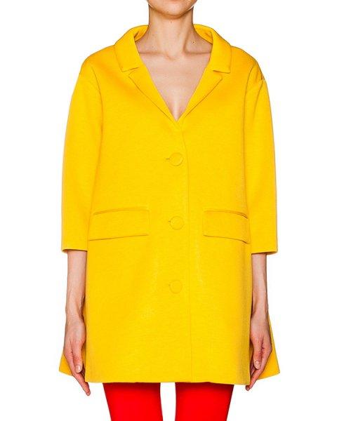 пальто прямого кроя из тонкой мягкой ткани артикул CP6CB0301 марки Simona Corsellini купить за 9400 руб.