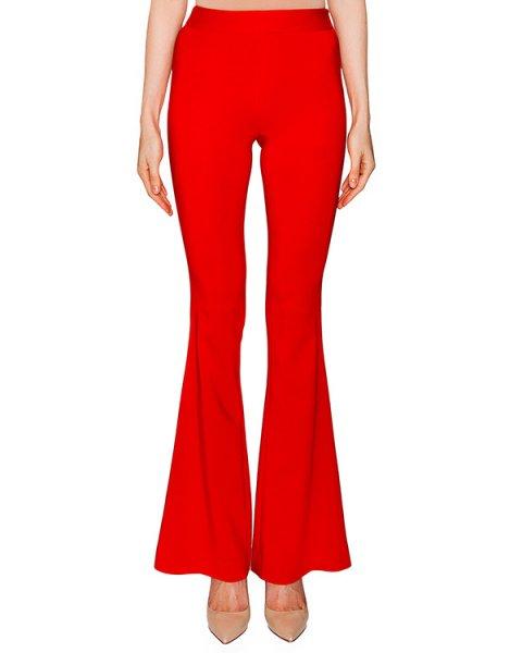 брюки клеш из плотной эластичной ткани артикул CP6PA0801 марки Simona Corsellini купить за 12000 руб.