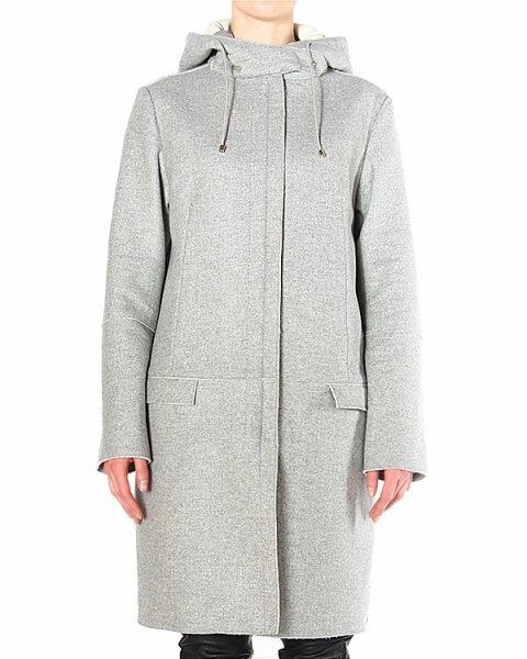 пальто из мягкой легкой шерсти с добавлением кашемира артикул CWO623P марки CoSTUME NATIONAL купить за 47300 руб.