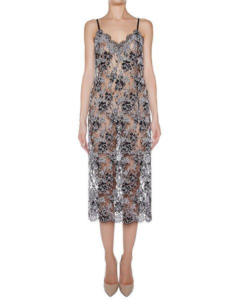 платье из полупрозрачного кружева артикул D0530910 марки Graviteight купить за 57600 руб.