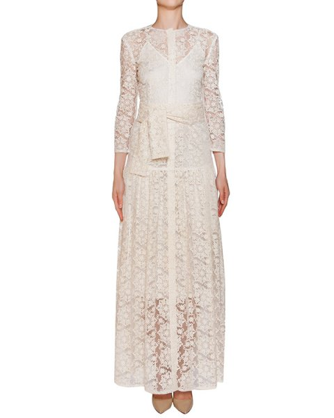 платье в пол из кружева, в комплекте с комбинацией артикул D0560029-D0823065 марки Graviteight купить за 50000 руб.