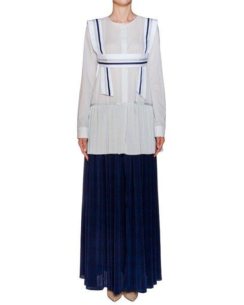 платье многослойное из легкого гофрированного хлопка артикул D07812036 марки Graviteight купить за 35000 руб.