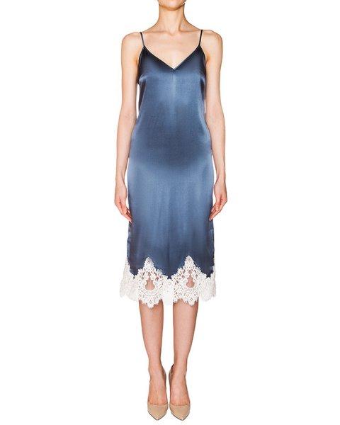 платье комбинация из плотного шелка, декорирована кружевом артикул D08233063 марки Graviteight купить за 62500 руб.