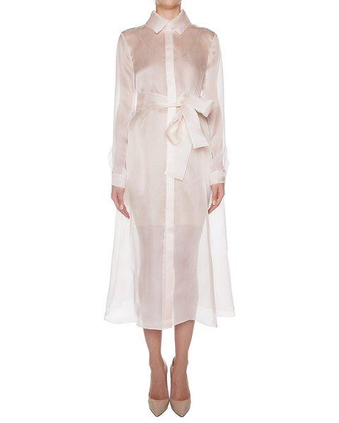 платье из легкой полупрозрачной шелковой органзы артикул D0843391 марки Graviteight купить за 55300 руб.