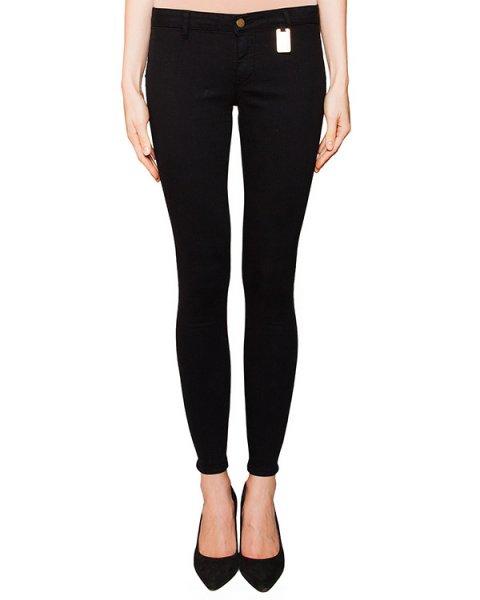 джинсы скинни из плотного денима, декорированы функциональными молниями артикул D2DN204 марки Thomas Wylde купить за 16300 руб.