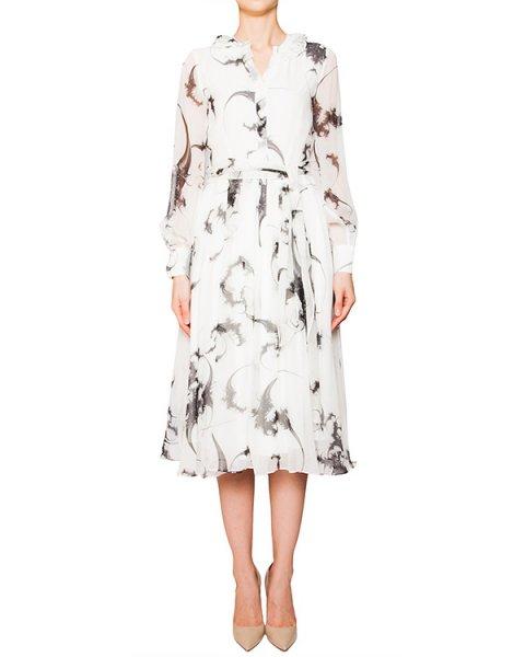 платье из легкого шелка с рисунком артикул D2PS501 марки Thomas Wylde купить за 28400 руб.
