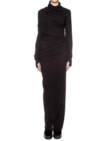 платье в пол из хлопкового трикотажа артикул DJ02F16 марки Isabel Benenato купить за 23700 руб.