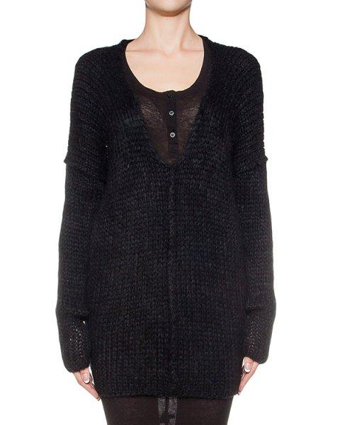 пуловер крупной вязки из микса шерсти, дополнен вырезом на спине артикул DK52F16 марки Isabel Benenato купить за 29100 руб.