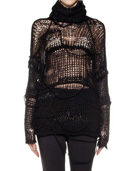 свитер  из микса натуральной шерсти свободной вязки артикул DK81F16 марки Isabel Benenato купить за 33300 руб.