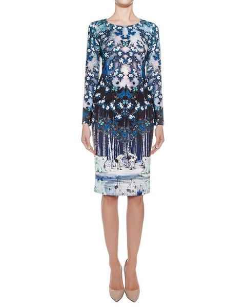 платье приталенного кроя из тонкого неопрена с 3D рисунком артикул DR114 марки RARY купить за 16600 руб.