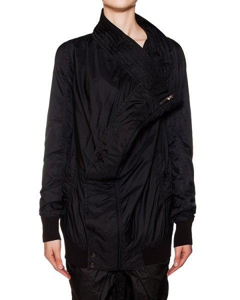 куртка оригинального кроя из водоотталкивающей ткани артикул DS16S1716/NI марки RICK OWENS DRKSHDW купить за 49900 руб.