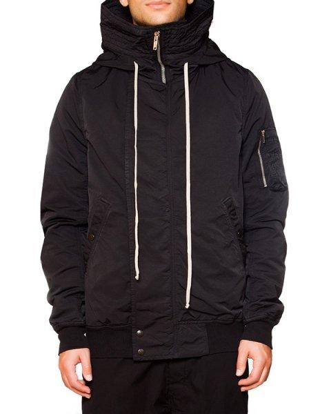 куртка из плотной ткани с объемным капюшоном артикул DU15F5764 марки RICK OWENS DRKSHDW купить за 65900 руб.