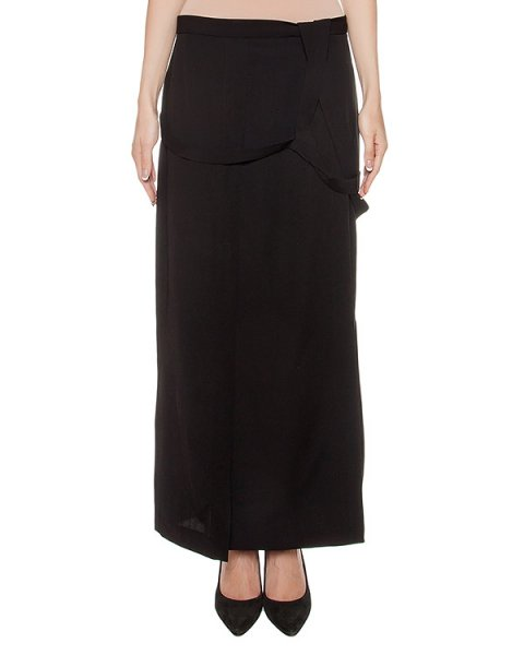 юбка из тонкой вирджинской шерсти артикул DW12F16 марки Isabel Benenato купить за 44700 руб.