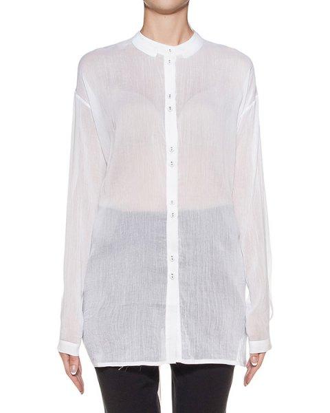 блуза из тонкого хлопка и шелка артикул DW33F16 марки Isabel Benenato купить за 31100 руб.