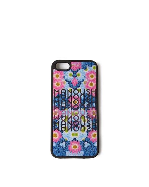 чехол для iPhone из пластика с ярким рисунком для модели iPhone 5/5S артикул E4IPHO марки Manoush купить за 1200 руб.